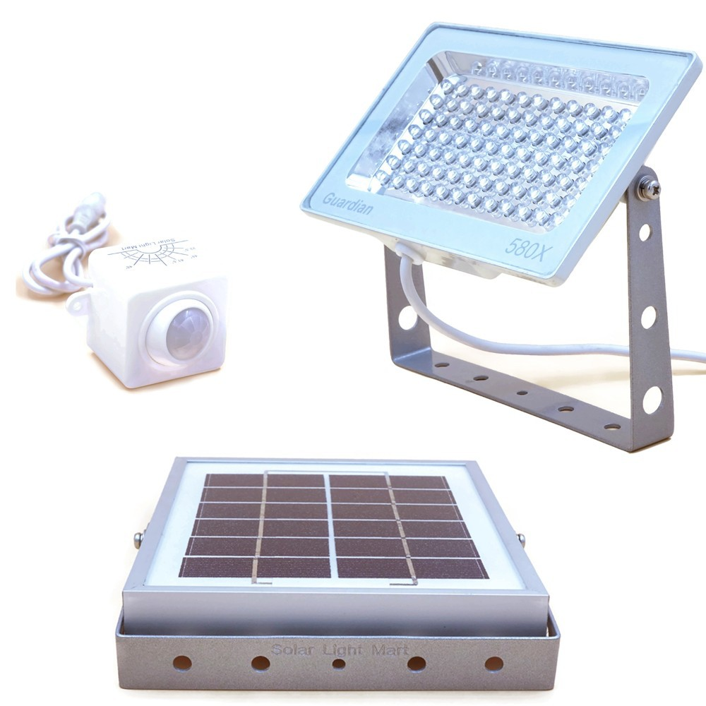 Solar Powered Security Light With Motion Sensor Green Energy Needs Voltage Led Post Lights Outdoor On Street Wiring Diagram